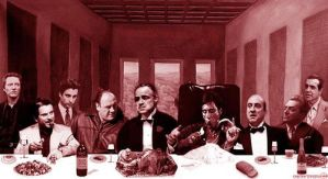 The Godfather's Last Supper by idecidefilms