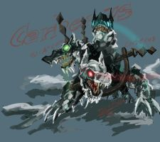 Devil May Cry 3 - Cerberus by TypeProton