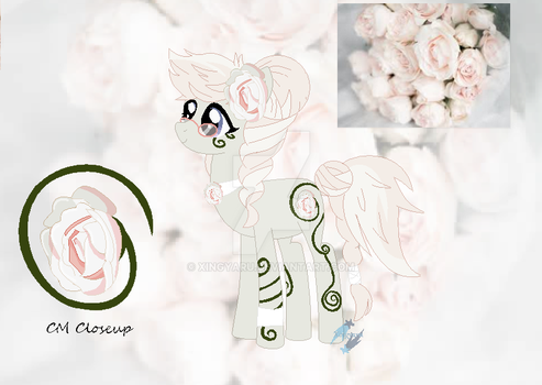 {SOLD} Auction - White Roses Theme by Xingyaru