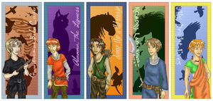 Tortall Ladies Bookmarks by cha29
