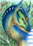 ACEO for DreamBurst by Dragarta