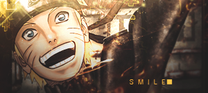 Smile Naruto by GreenMotion