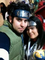 Asuma and Kurenai Cosplays by EvilNekoYoukai