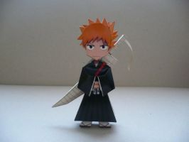Ichigo-Bleach papercraft by savaskul
