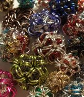 Chain Mail Charms by Kreemee