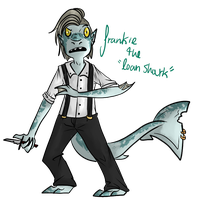 Frankie the Loan Shark by BitterBile