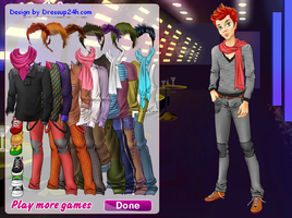 Cool Boy Dress up Game by willbeyou