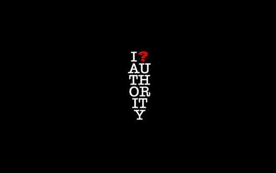 Question authority wallpaper by padguy