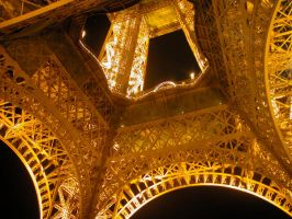 Eiffel At Night III by Stienf9
