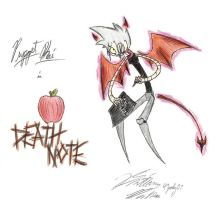 Death Note virus by Maszeattack