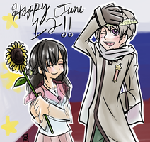 APH: Happy 12th of June by AnimeFan2006