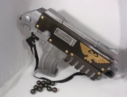Life size Space Marine Bolter - more details by dlshadowwolf