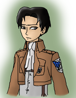 Mouse Drawing Levi by Maygirl96