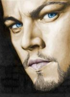 Leonardo DiCaprio colored by nikki13088