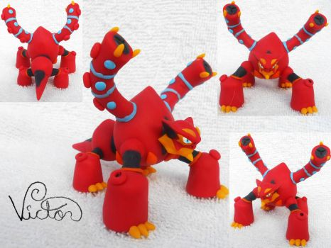 721 Volcanion by VictorCustomizer