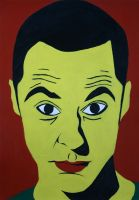 Sheldon Cooper by zoinkscameron