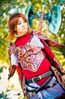 Fire Emblem Minerva Cosplay 02 by Benny-Lee