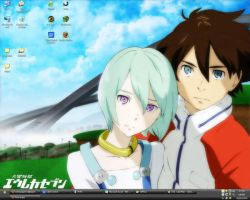 Eureka Seven Wall of July by larg-san
