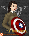Agent Peggy Carter by LexiKimble