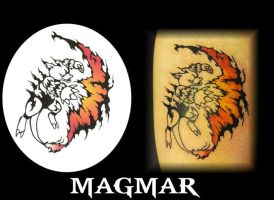 Tribal Magmar by LorcanGallagher