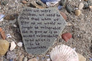 To Be Alive Is To Be Vulnerable by Rhiallom