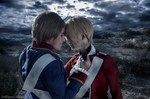 [APH] America nd' England - Idependence starts now by KasumiVI