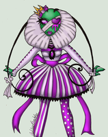 Tallest Violet :::Gothic Lolitia::: by Prepare-Your-Bladder