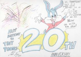 Tiny Toons 20th anniversary by MortenEng21