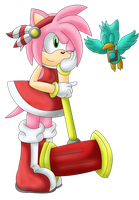 CE: Amy Sonic Adventure by Cazemon