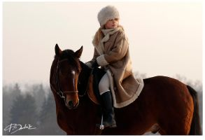 Karolina and Saruman 5 by paula2206-photo
