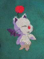 Mogry (FF IX) - Cross Stitch by Melian-Vidumavi