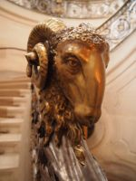 Ram Head Stairway To Hell by LotusGrisDesign