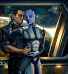 Liara and Shepard - Always here for you. by AHague