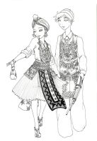 Hmong New Year by Loilie