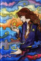 Nephrite_an Astrologer by Shiniclaes