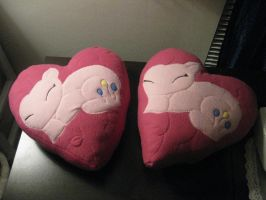 The fun has been DOUBLED (Pinkie Pie Pillows) by Brightstar1008