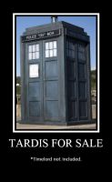 TARDIS For Sale by Okitakehyate