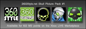 360Style Gamer Pics_Skull Pack by SEspider