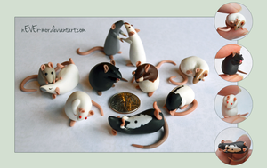 A Tiny Rat Crowd ~ DragonsAndBeasties Commission by nEVEr-mor