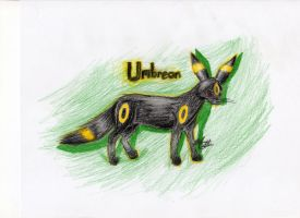 Realistic Umbreon by nacho36