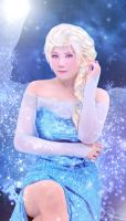 The Snow Queen Elsa by Inushio