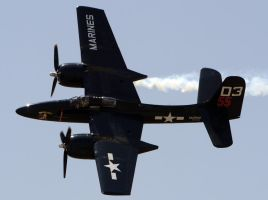 Grumman F7F Flyby by shelbs2