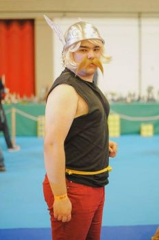Cosplay - Asterix the Gaul by MegaTuga