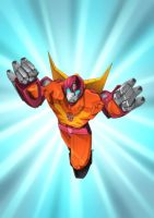Rodimus Prime by wordmongerer