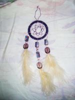 Purple Dreamcatcher by MademoiselleOrtie