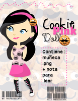 Cookie Pink Doll .PNG by Thetutoscata