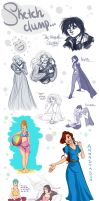 !!!SKETCH DUMP!!! by BoffieXD