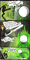Hussie Vs. Doc Scratch by The-EverLasting-Ash