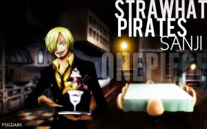 Straw Hat Pirates, Sanji. by fogdark