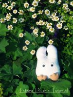 Totoro Plushie Tutorial by Plushbox